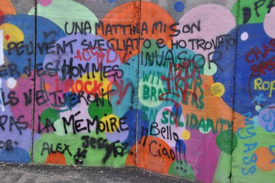Click per vedere la Galleria dei Graffiti
