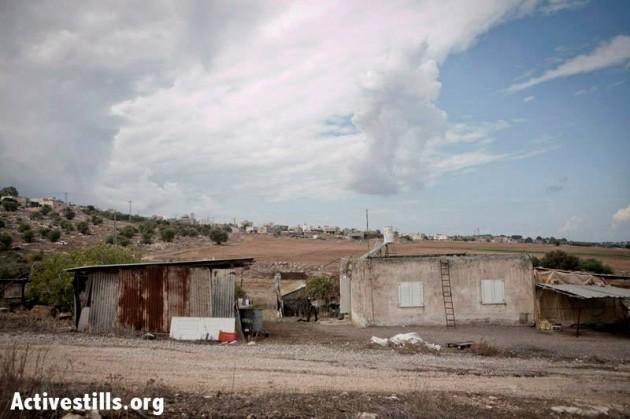 israele i beduini della galilea davanti alla demolizione