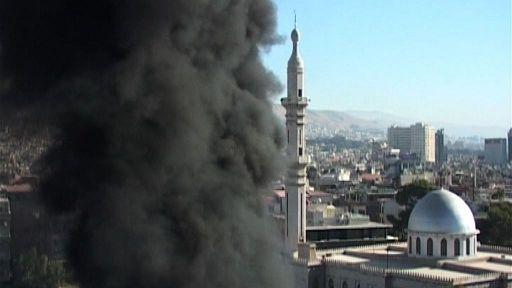 Damasco, bomba vicino a hotel Onu: rivendicata da Esercito libero