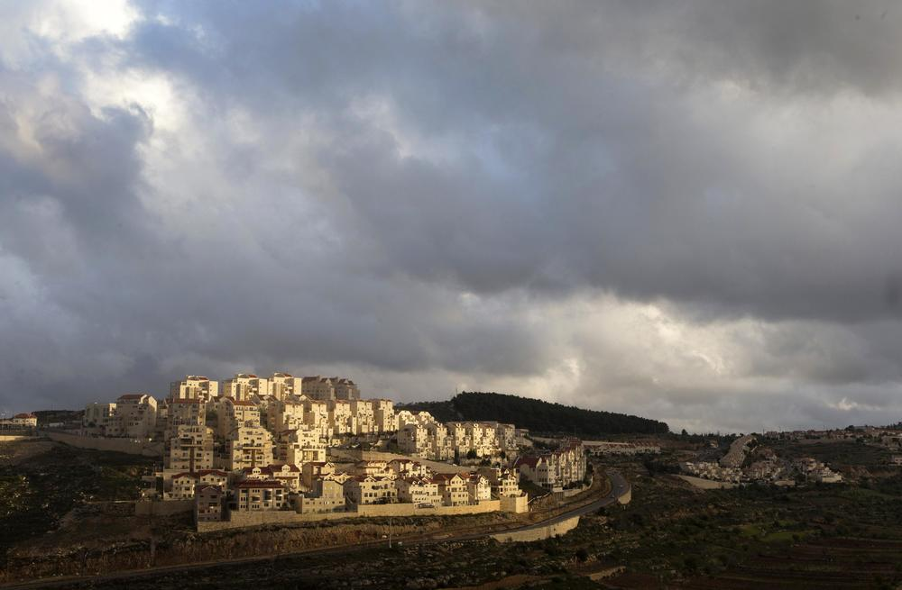 Houses are seen in a general view of the West Bank Jewish settlement of Efrat