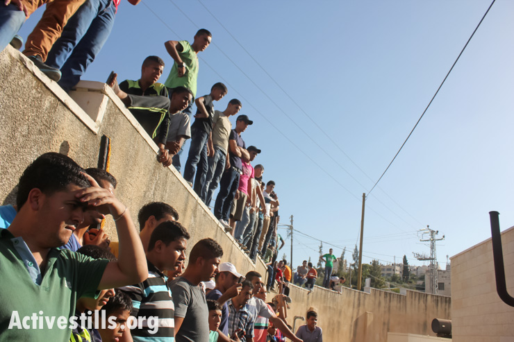 Funeral of Islam Tubasi, Jenin, West Bank, 17.09.2013