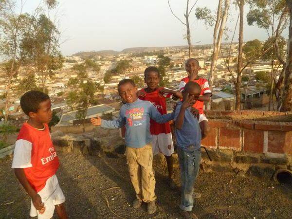 Asmara, Punto panoramico sulla città