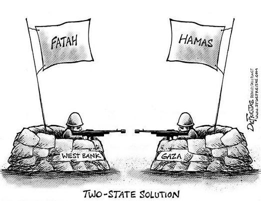 Risultati immagini per Fatah e Hamas
