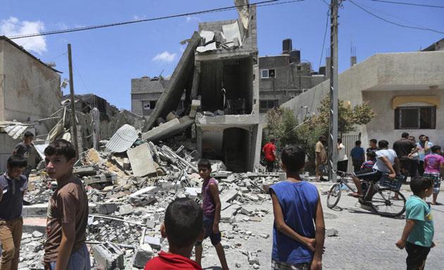 gaza-bombardata