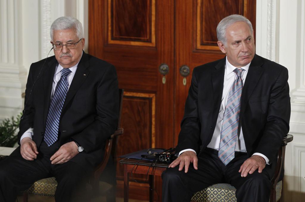 Benjamin Netanyahu, Mahmoud Abbas