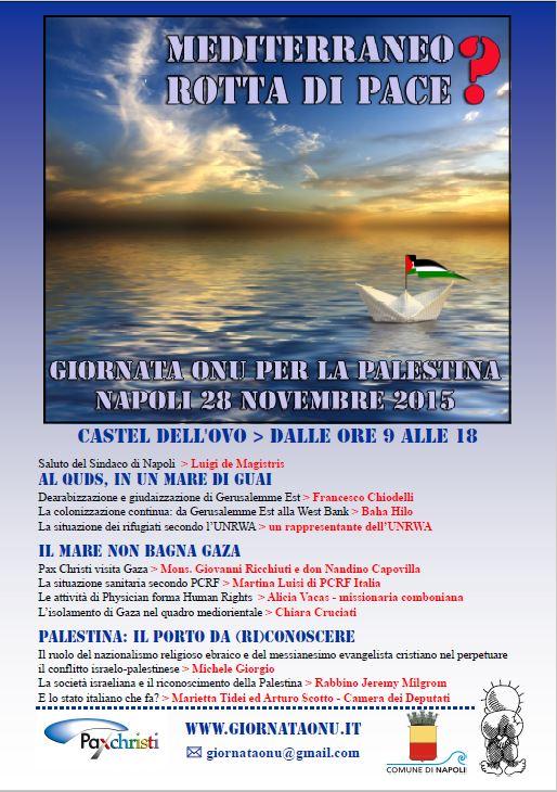 Giornata Onu per la Palestina
