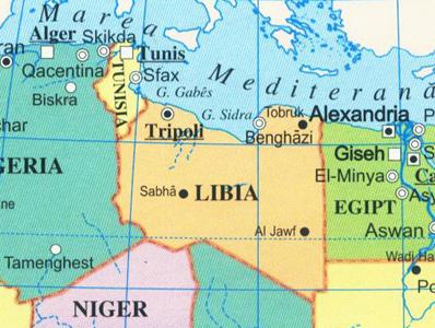 Libia-Harta