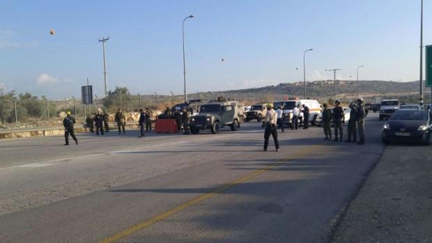 Ragazza palestinese 13enne disarmata colpita dopo aver rifiutato di fermarsi ad un Checkpoint in Cisgiordania