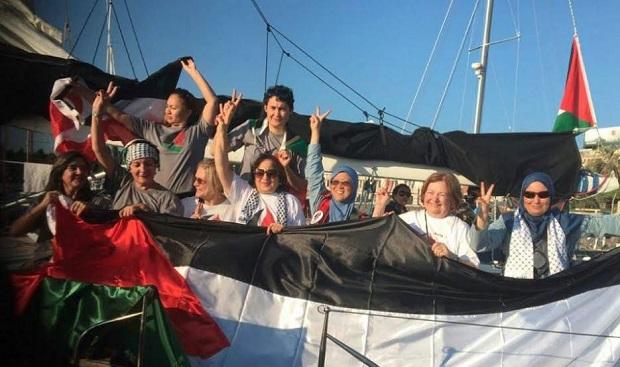 Marina israeliana pronta ad abbordare Zaytouna-Oliva
