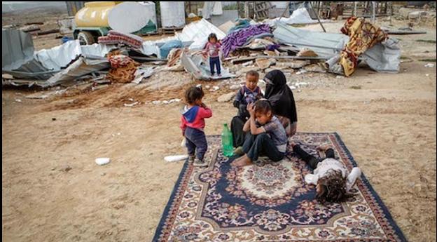 cimini contro i palestinesi