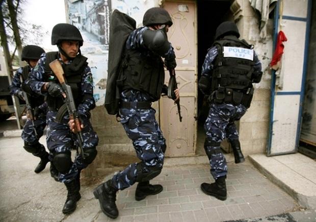 polizia-palestinese